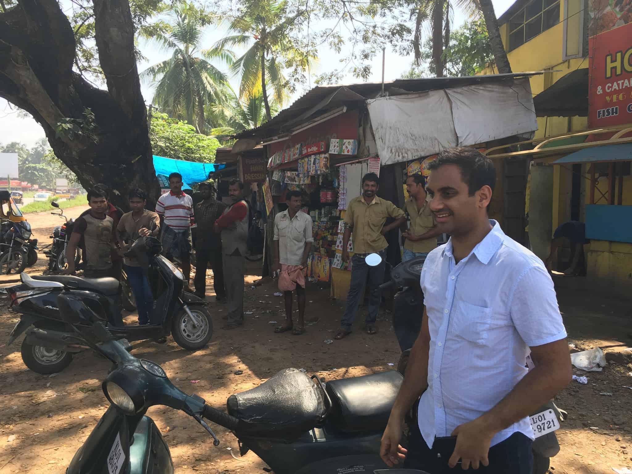Aziz Ansari in India