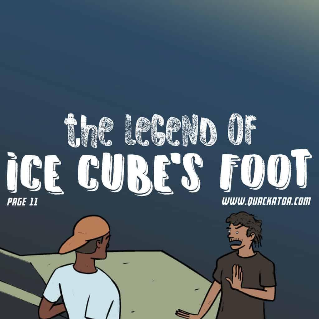 #IceCubesFoot page 11 #webcomic #quackatoa