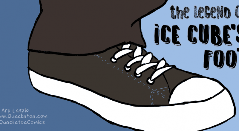 The Legend of Ice Cube's Foot